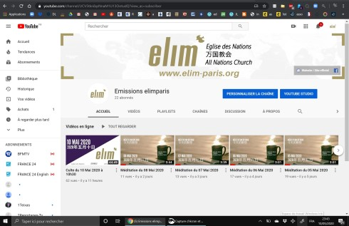 ElimParis youtube