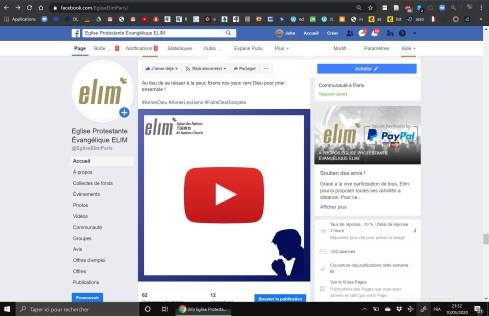 Facebook service presentation